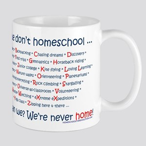We Don't Homeschool Mug